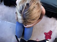 Amateur, Blonde, Blowjob, POV