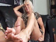 mother feet