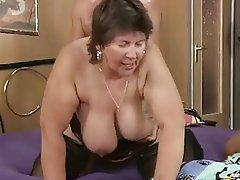 Big Boobs, Blowjob, Group Sex, Mature
