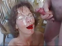 Amateur, Blowjob, Facial, Mature