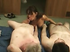 Big Boobs, Blowjob, Brunette, MILF