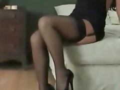 Brunette, Softcore, Stockings